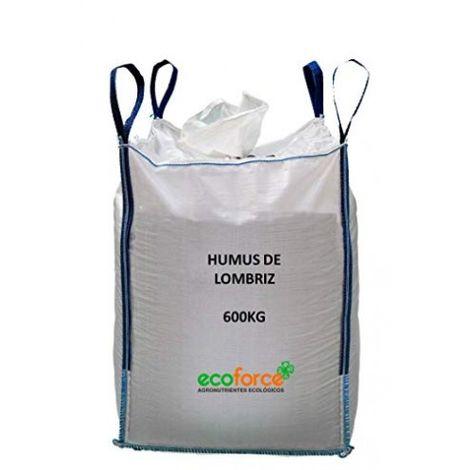 CULTIVERS Humus de Lombriz ecológico 1200 kg. Abono para Plantas Apto para Todo Tipo de Plantas. Precio Directo de fábrica!!