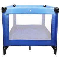 Cuna de Viaje, Cuna Parque de Viaje, Estándar del CE, 93 x 93 x 76 cm, Azul cielo/Azul marino, Carga máxima: 25 kg
