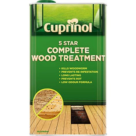 Cuprinol 5 Star Complete Wood Treatment (Water Based) - All Sizes