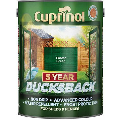 Cuprinol 5 Year Ducksback 5L (select colour)