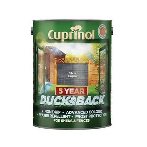 Cuprinol 5 Year Ducksback 5L (select colour)
