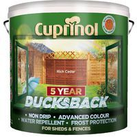 Cuprinol 5 Year Ducksback 9L (select colour)