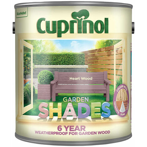 Cuprinol 5282515 Garden Shades Heart Wood 2.5 Litre