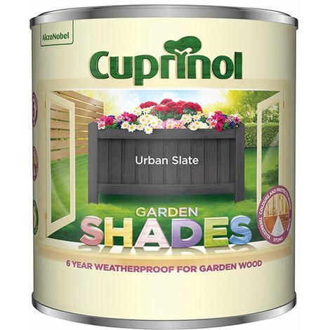Cuprinol 5316967 Garden Shades Urban Slate 1 Litre