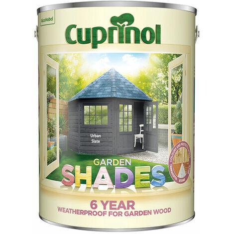Cuprinol 5317077 Garden Shades Urban Slate 5 Litre