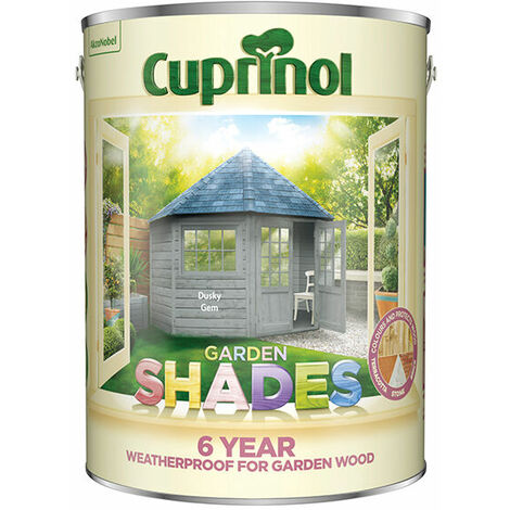 Cuprinol 5317080 Garden Shades Dusky Gem 5 Litre