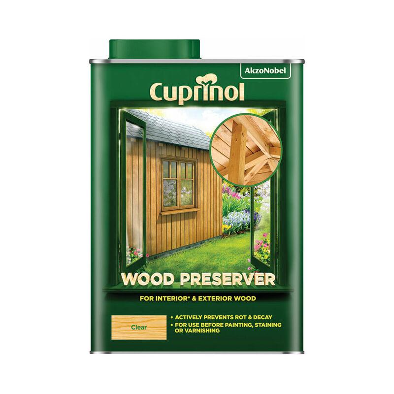 Image of 5330417 Wood Preserver Clear 1 litre - Cuprinol