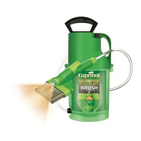 Cuprinol 6133940 Spray & Brush 2 In 1 Pump Sprayer