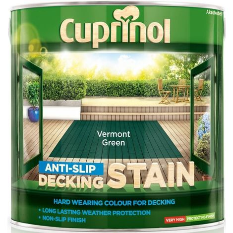 Cuprinol Anti-slip Decking Stain 2.5L (select colour)