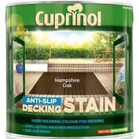 Cuprinol Anti-slip Decking Stain 2.5L (select colour)
