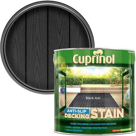 Cuprinol AntiSlip Decking Stain 2.5L Black Ash