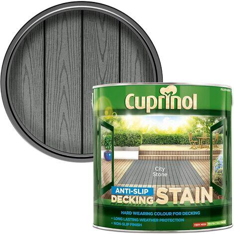 "main image of ""Cuprinol AntiSlip Decking Stain 2.5L City Stone"""