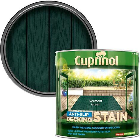 Cuprinol AntiSlip Decking Stain 2.5L Vermont Green