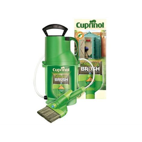 Cuprinol CUPMPSB Spray & Brush 2 In 1 Pump Sprayer