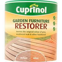 Cuprinol Garden Furniture Restorer - 1 Litre - Restores Weathered Wood