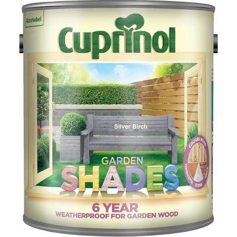 Cuprinol Garden Shades Paint Silver Birch 2.5L