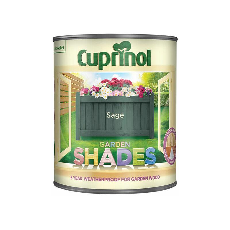 Image of 5083478 Garden Shades Sage 1 Litre - Cuprinol