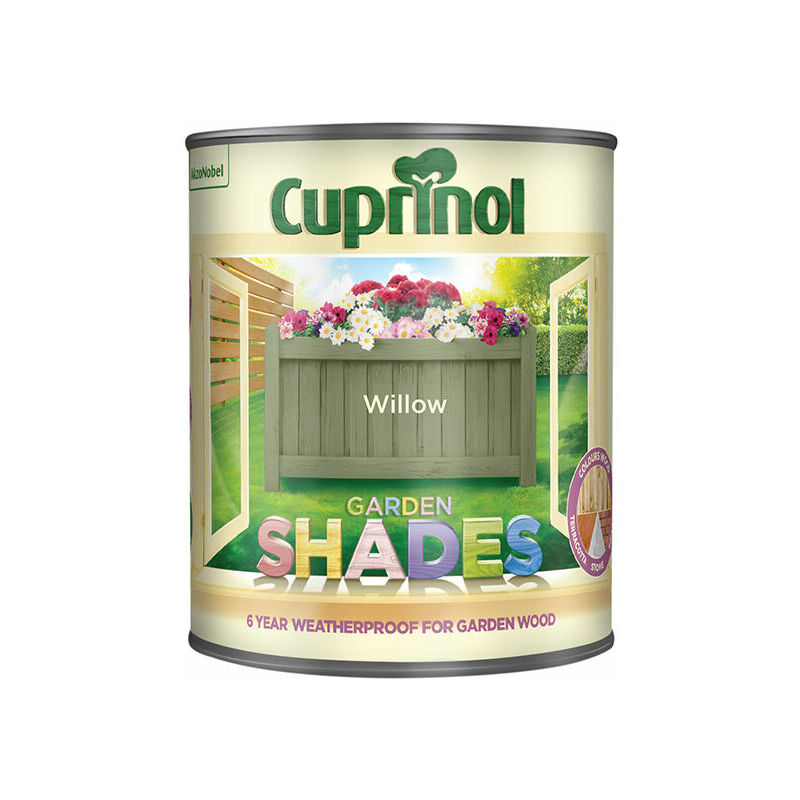 Image of 5083483 Garden Shades Willow 1 Litre - Cuprinol