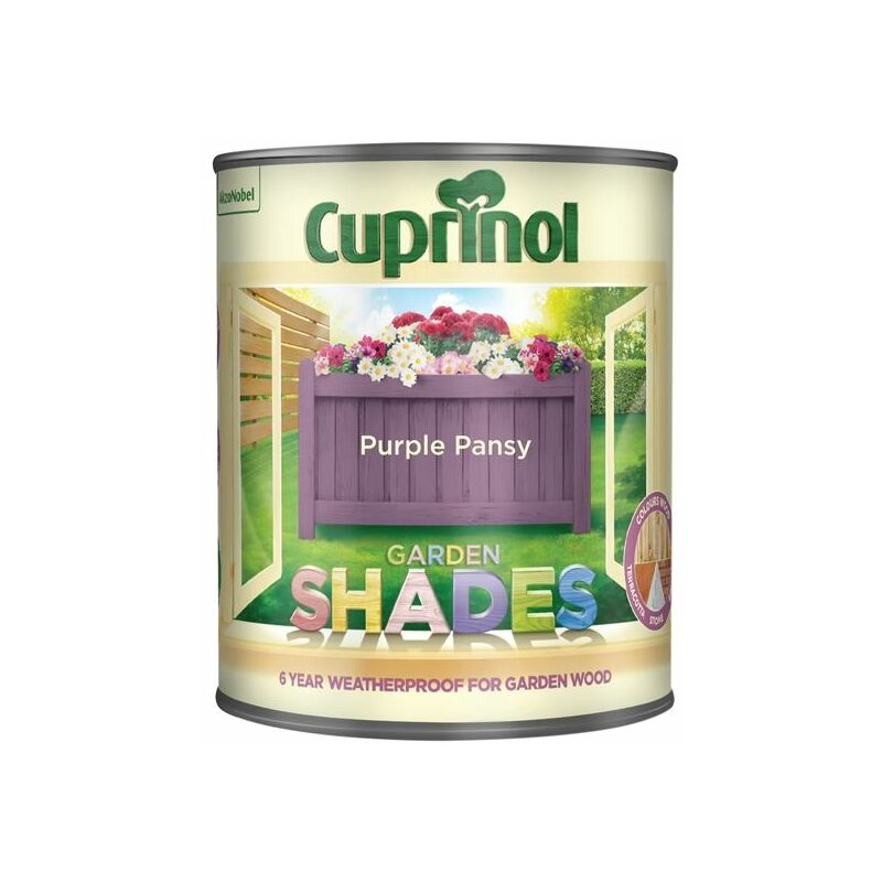 Image of Garden Shades Purple Pansy 1 Litre ( GSPP1L) - CUP