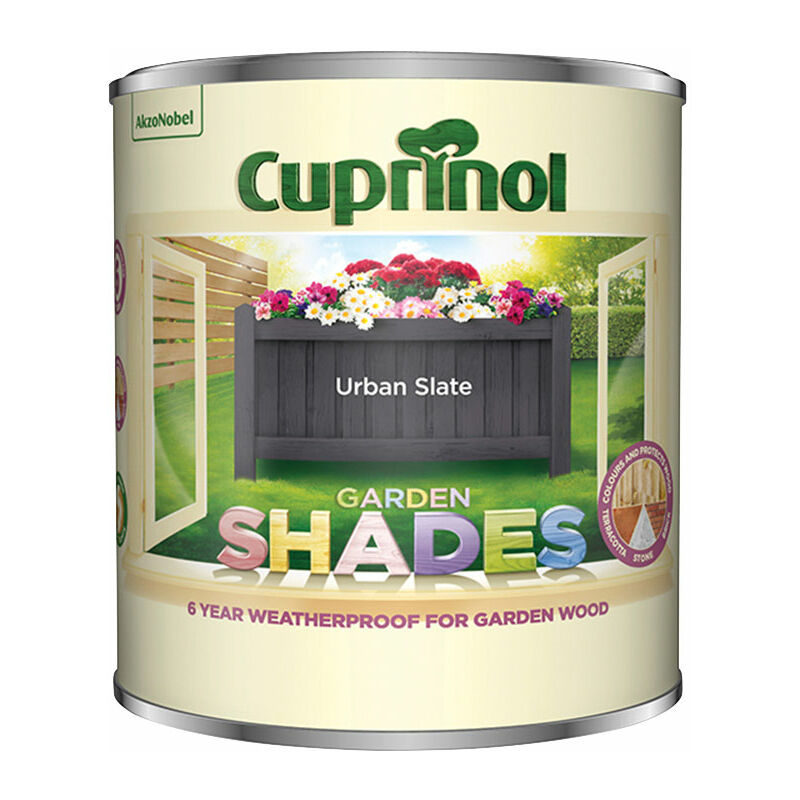 Image of 5316967 Garden Shades Urban Slate 1 litre - Cuprinol