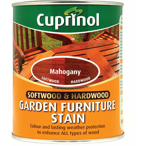 Cuprinol Hardwood and Softwood Garden Furniture Stain 750ml(select colour)