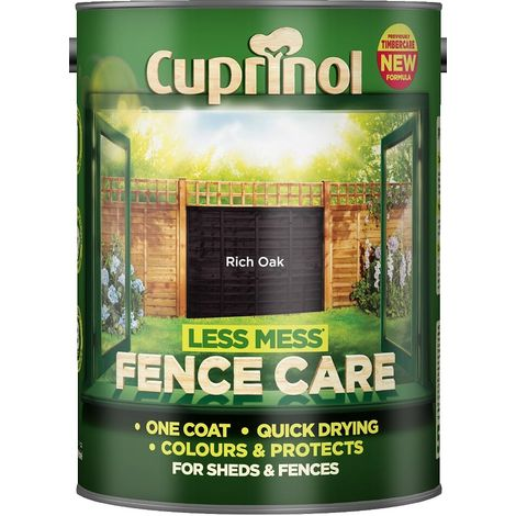 Cuprinol Less Mess Fence Care (select size & colour)