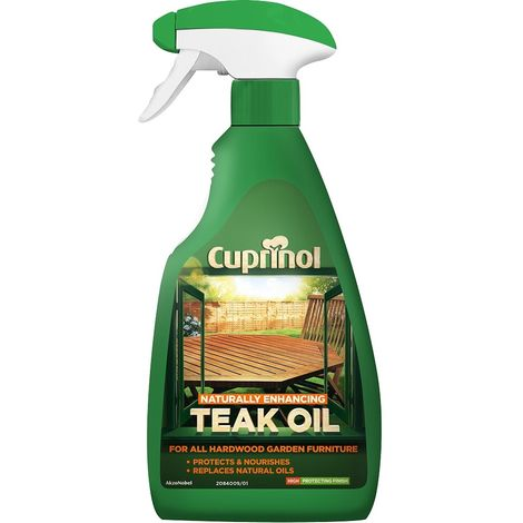 Cuprinol Naturally Enhancing Teak Oil
