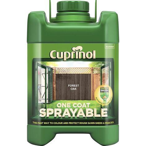 Cuprinol One Coat Sprayable Fence Treatment 5L (select colour)