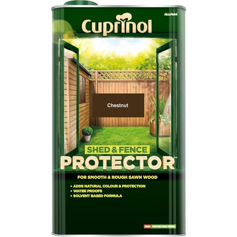 Cuprinol Shed & Fence Protector 5L (choose colour)