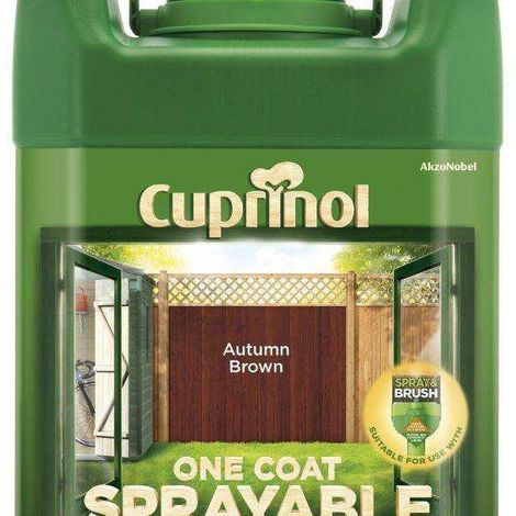 Cuprinol Sprayable Fence Treatment 5L Forest Green