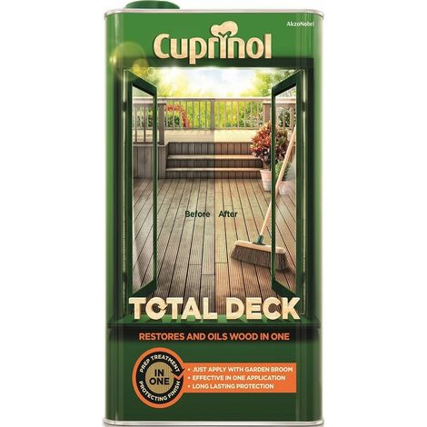 Cuprinol Total Deck (select size)