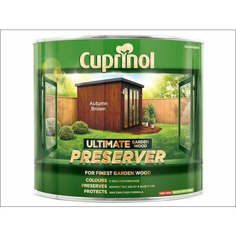 Cuprinol Ultimate Garden Wood Preserver (select size & colour)