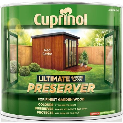 Cuprinol Ultimate Garden Wood Preserver (select size & colour)