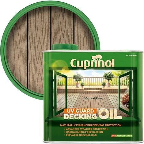 Cuprinol UV Guard Decking Oil 2.5L (select colour)
