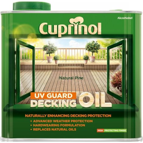 Cuprinol UV Guard Decking Oil 2.5L (select colour)