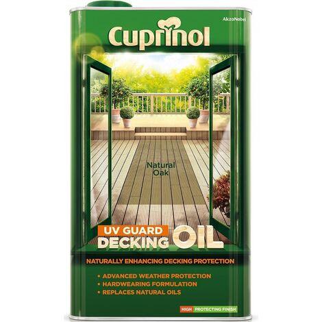 Cuprinol UV Guard Decking Oil 5L (select colour)