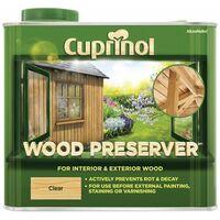 Cuprinol Wood Preserver - Clear - All Sizes