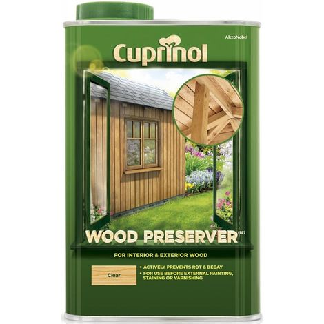 Cuprinol Wood Preserver Clear (select size)