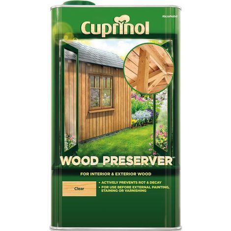 Cuprinol Wood Preserver Clear (select size)