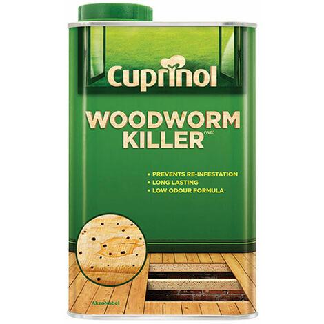 Cuprinol Woodworm Killer 500ml / 1L / 5L Kills & Protects For Years