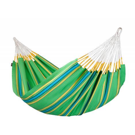 Currambera Kiwi - Hamac classique double en coton - Vert