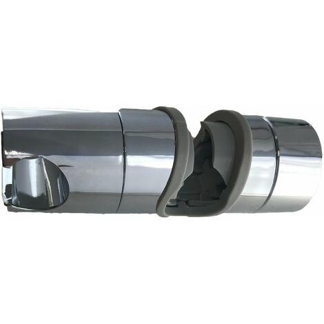 Curseur universal pour barre de douche avec cone Ø 18 ou 25 mm