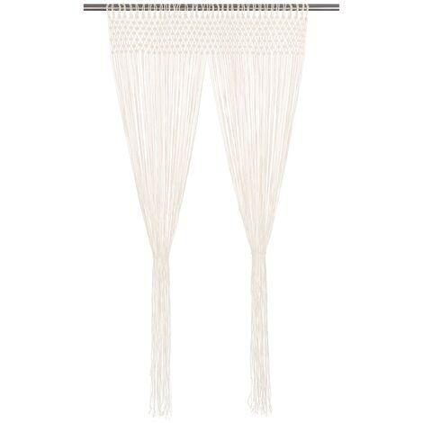 Curtain 140x240 cm Cotton