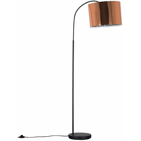 Curva 150cm Dark Grey Floor Lamp + LED Bulb
