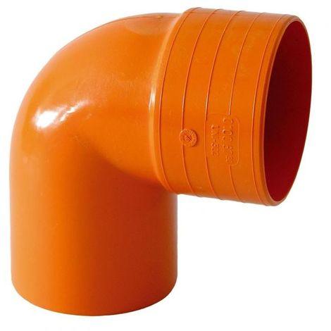 Curva Chiusa 87 Pvc Rosso Per Tubi Idraulici