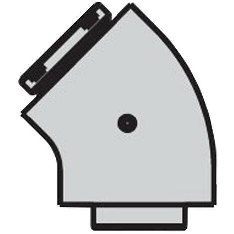 Curva coaxial 45 Grados Beretta para calderas de condensación
