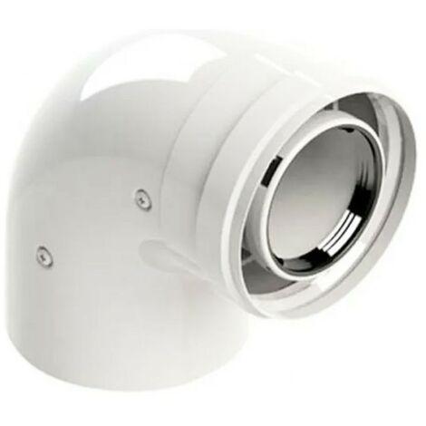 Curva coaxial 90 Grados Beretta para calderas de condensación