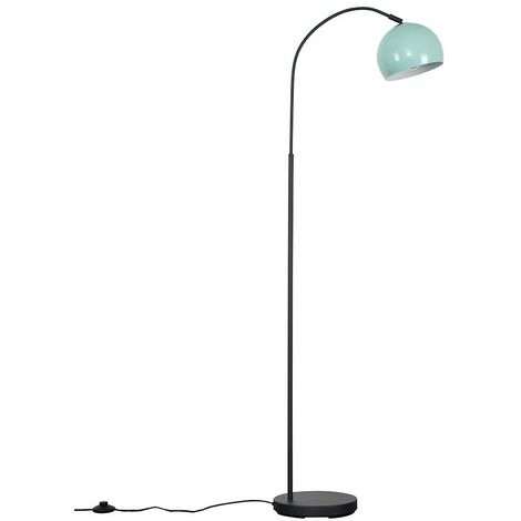 Curva Dark Grey Floor Lamp