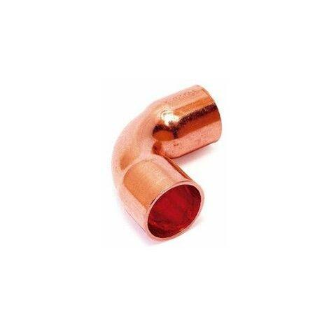 Curva de cobre para soldar 15X90º Hembra Hembra de Comap-Sudo