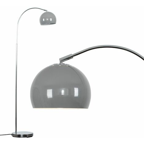 Curva Floor Lamp in Chrome